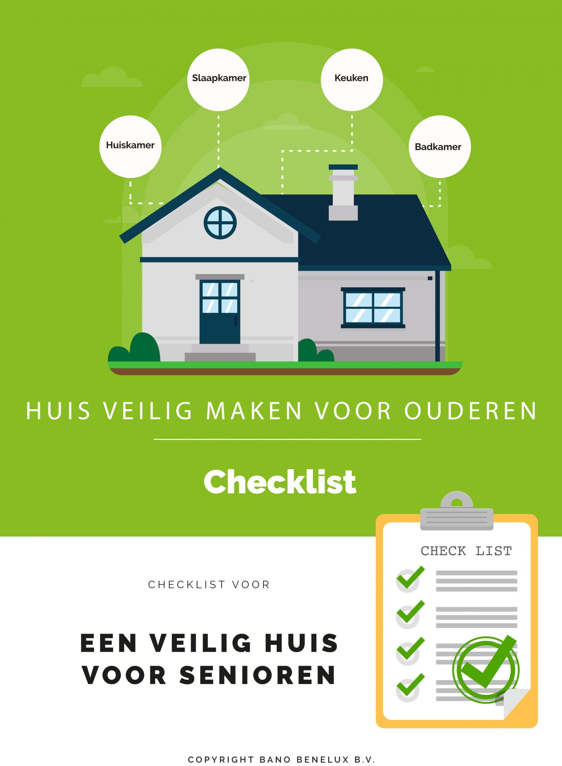 Veilig huis voor senioren checklist