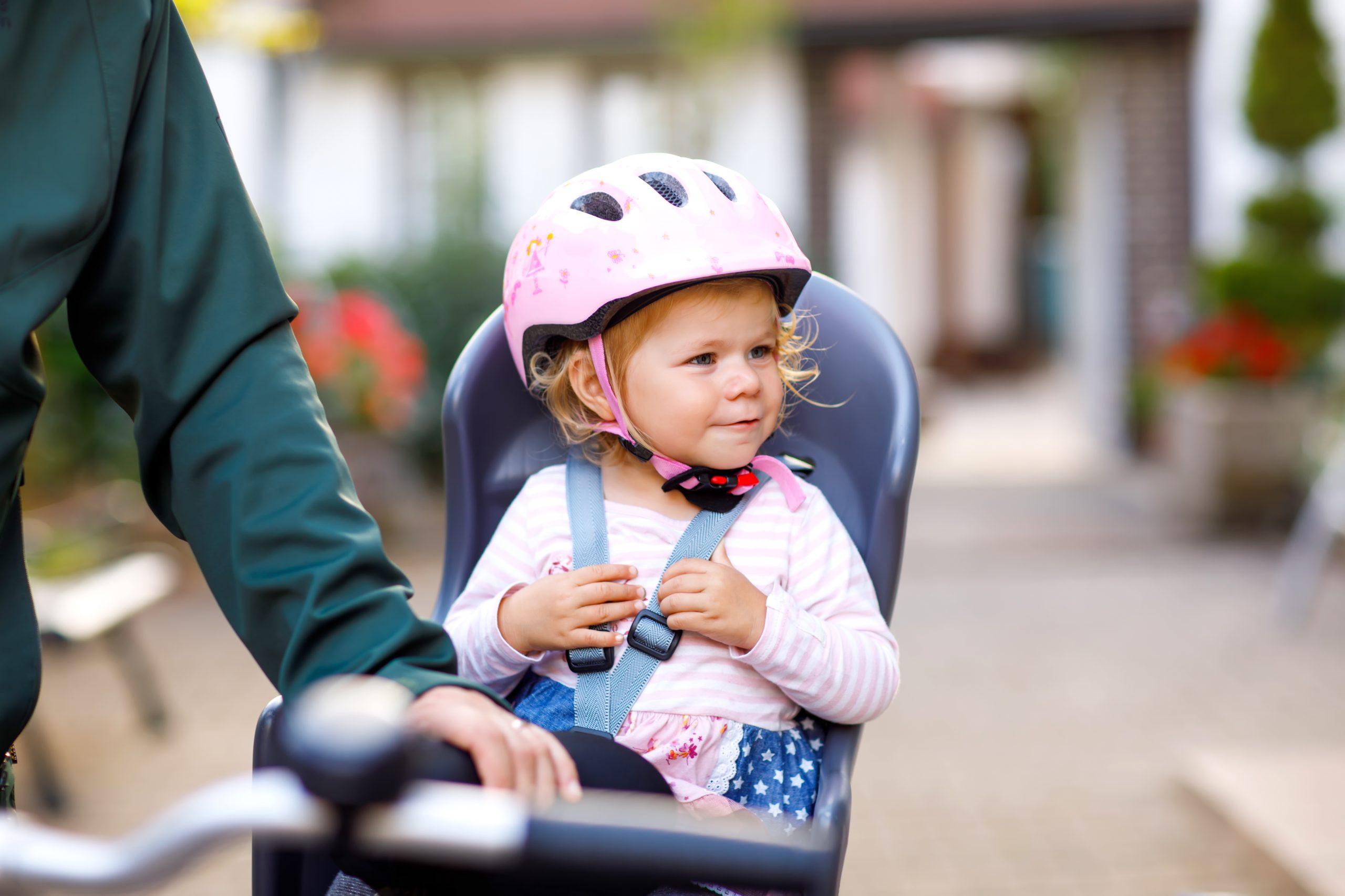 Goed fietsstoeltje voorkomt spaakletsel